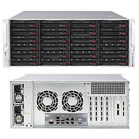 Supermicro SC846BE2C-R1K28B 1280W (Silver/Black)