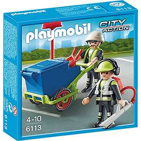 Playmobil City Action 6113 Sanitation Team