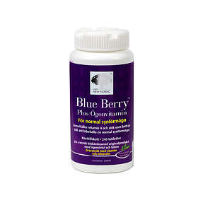 New Nordic Blue Berry Plus 240 Tablets