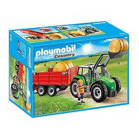 Playmobil Country 6130 Large Tractor with Trailer