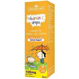 Natures Aid Vitamin-C Drops for Infants and Children 50ml