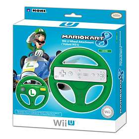 Hori Mario Kart 8 Racing Wheel - Luigi Edition (Wii U)