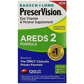 Bausch & Lomb PreserVision Areds 2 120 Capsules