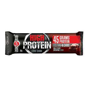 Musashi P45 High Protein Low Carb Bar 90g 12pcs