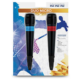 Bigben Interactive Wired Duo Microphones (PS2/PS3/PS4)