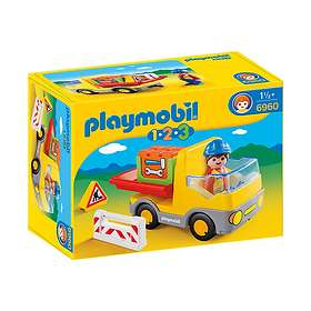 Playmobil 1.2.3 6960 Construction Truck