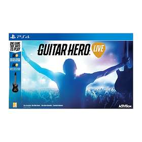 Guitar Hero Live (inkl. Gitarr) (PS4)