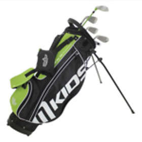 MKids Pro Junior Half (9-11 Yrs) with Carry Stand Bag
