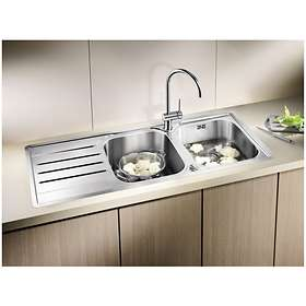 Blanco Filo S Kitchen Mixer Tap 518811 (Chrome/Klippgrå)