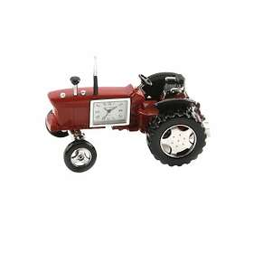 Wm Widdop Red Farmers Tractor Miniature