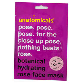 Anatomicals Nothing Beats Rose Hydrating Face Mask 25g