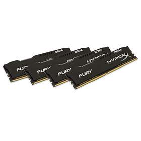 Kingston HyperX Fury Black DDR4 2133MHz 4x4GB (HX421C14FBK4/16)