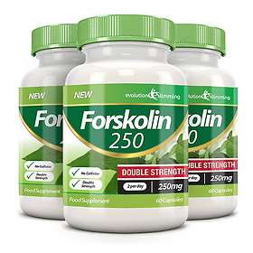 Evolution Slimming Forskolin Double Strength 250mg 60 Kapslar