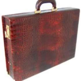 Pratesi Machiavelli Medium King Crocco Attache Case