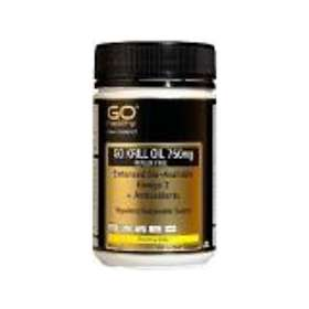 Go Healthy Krill Oil 750mg 100 Capsules