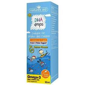 Natures Aid DHA Omega-3 Drops 50ml