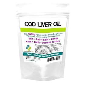 Lindens Cod Liver Oil 1000mg 360 Capsules