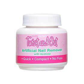Pretty Twist & Out Acetone Free Varnish Remover 55ml