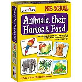 Pre-School Animals, Their Homes and Food