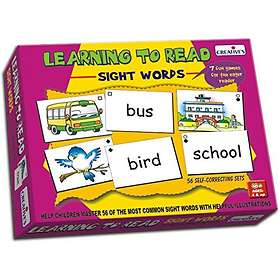 School Learning to Read Sight Words
