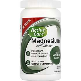 Active Care Magnesium + Calcium 180 Tabletter