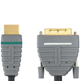 Bandridge Blue HDMI - DVI-D Dual Link 2m