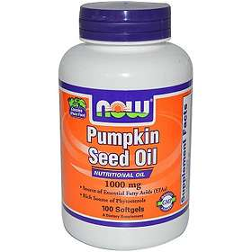 Now Foods Pumpkin Seed Oil 1000mg 100 Capsules