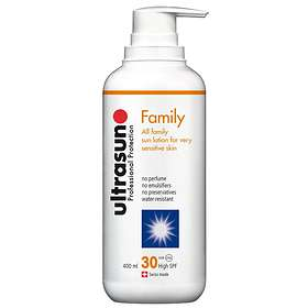 Ultrasun Family Sun Lotion SPF30 400ml