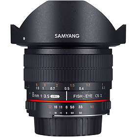 Samyang MF 8/3.5 Fisheye CS II for Sony E