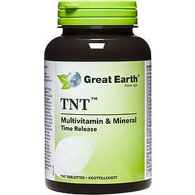 Great Earth Tnt Multivitamin & Mineral 150 Tabletter
