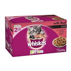 Whiskas Pouches Kitten 12x0.085kg
