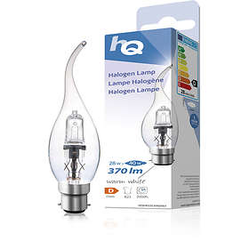 HQ Halogen Lamp Candle 370lm 2800K B22 28W (Dimbar)
