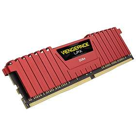 Corsair Vengeance LPX Red DDR4 2400MHz 8GB (CMK8GX4M1A2400C14R)