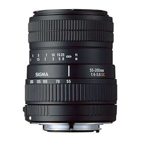 Sigma 55-200/4,0-5,6 DC for Canon