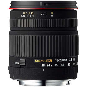 Sigma AF 18-200/3,5-6,3 DC for Canon