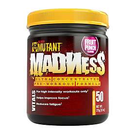Mutant Nutrition Madness 0.27kg