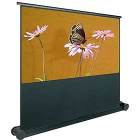 "Oray Butterfly Mobile Black out Matte White 16:9 108"" (240x135)"