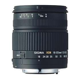 Sigma 18-125/3.5-5.6 DC for Nikon