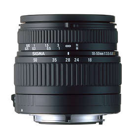 Sigma 18-50/3,5-5,6 DC for Nikon