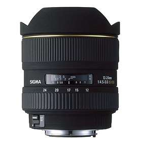 Sigma 12-24/4.5-5.6 EX DG HSM for Sony A