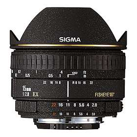Sigma 15/2.8 EX DG Fisheye for Sony A
