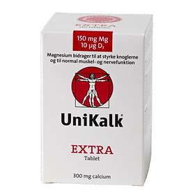 UniKalk Extra Mg and D3 140 Tabletter