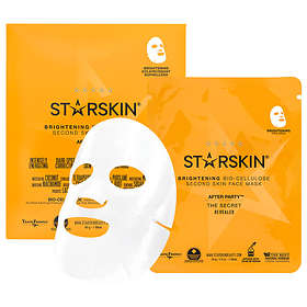 Starskin After Party Brightening Second Skin Facial Sheet Mask 1st