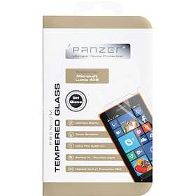 Panzer Tempered Glass Screen Protector for Microsoft Lumia 435