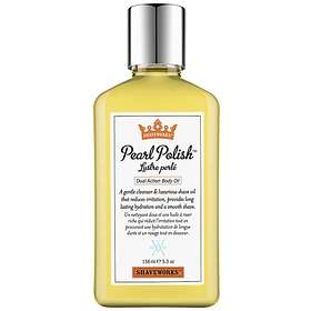 Shaveworks Pearl Polish Dual Action Body Oil 157ml