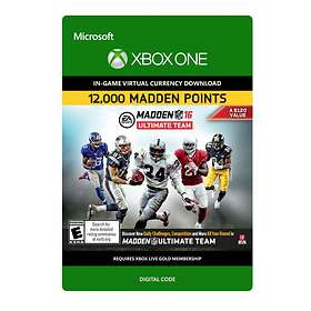 Madden NFL 16 - 12000 Madden Points (Xbox One)