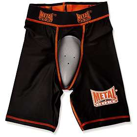 Metal Boxe Shorts with Protection Cup