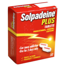 Omega Pharma Solpadeine Plus 32 Tablets