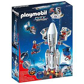 Playmobil City Action 6195 Space Rocket with Launch Site