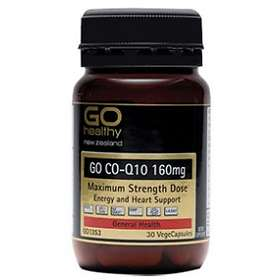 Go Healthy Co-Q10 160mg Vege 30 Capsules